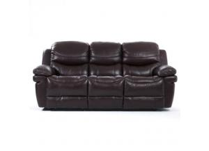 Sienna Dark Brown Power Sofa