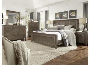 Talbot Queen Bed, Dresser, Mirror, Nightstand,Lifestyle Distribution