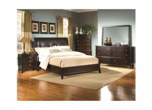 Leonardo Espresso Queen Bed