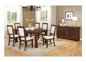Frank Java Rustic Dining Table