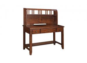 Mango Writing Desk With Hutch