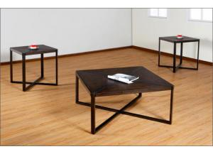 Java & Black 3-Pack Occasional Tables