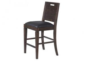Pine Hill Counter Stool with Upholstered seat