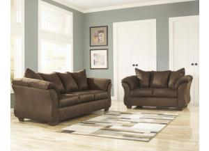 Kenneth Chocolate Sofa & Loveseat
