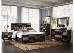 Fuqua Cal King Panel Bed