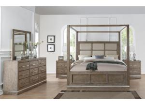 Aiden Cal King Canopy Bed