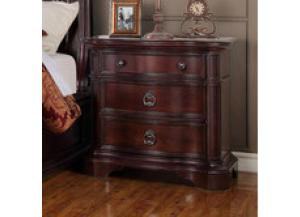 Lavon Lake 5 Drawer 3 Drawer Nightstand