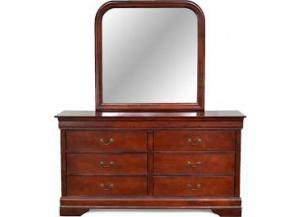 Cherry Louis Philippe Mirror