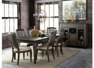 Sutton Place Rectangular Dining Table Plus 6 chairs
