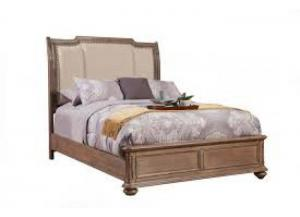 Melbourne Cal. King Upholstered Sleigh Bed