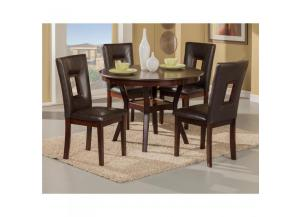 Segundo Dining Table & 4 Chairs