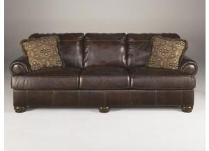 Serenity leather sofa