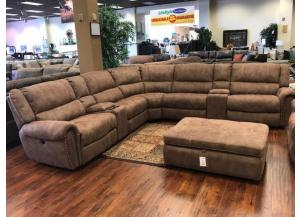 Santa Barbara 5-Piece Left & Right Side Power Sectional
