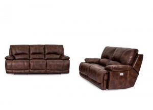 Santa Rosa Power Motion Loveseat With Power Headrest