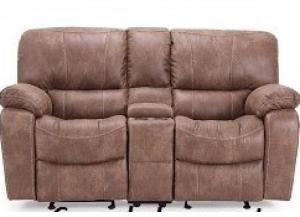 Texas Jack Console Motion Loveseat