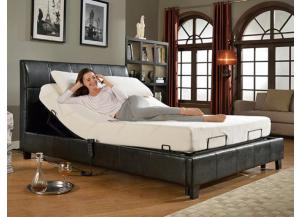 Queen size electric bed