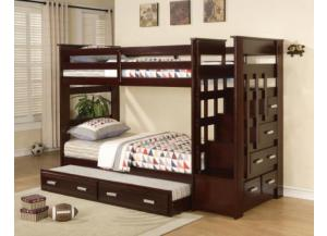 Allentown Bunk Bed With Trundle