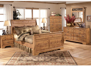 Bittersweet Bed including Restonic Mattress Set