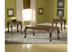 San Marino 3-pc Table Set