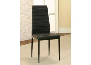 Terni Black Dinette Side Chair (Set of 6)