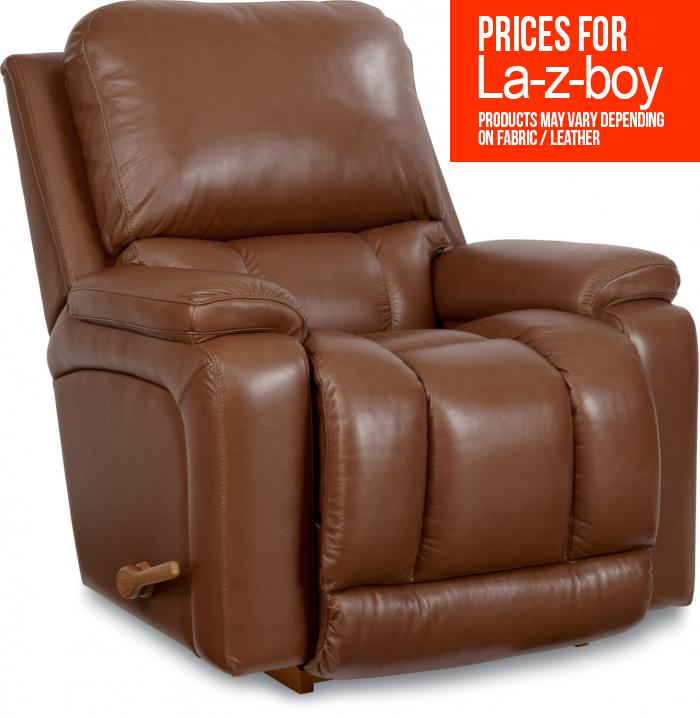 La-z-boy Leather Greyson Recliner,La Z Boy