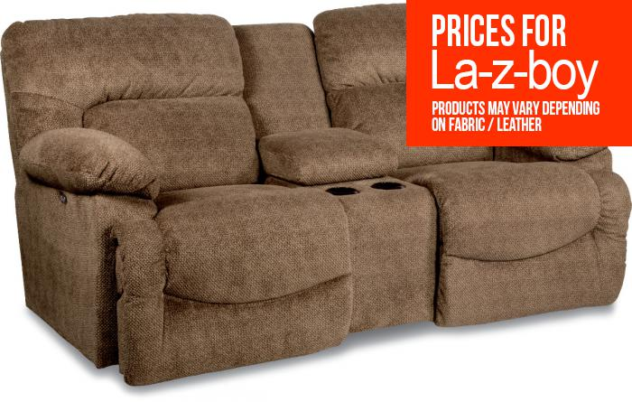 La-z-boy Asher Reclining Loveseat w/ Console,La Z Boy