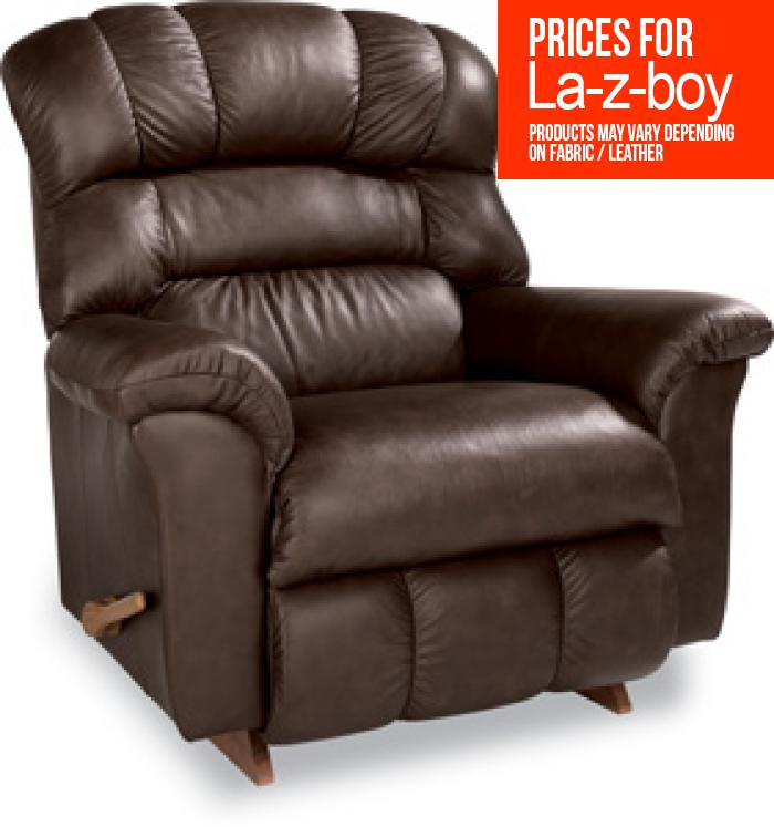 La-z-boy Leather Crandall Recliner,La Z Boy