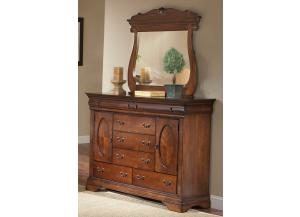 Bordeaux Dresser & Mirror