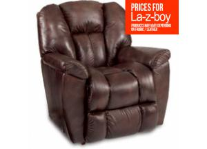 La-z-boy Leather Maverick Recliner