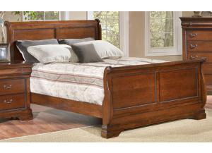 Bordeaux Queen Sleigh Bed