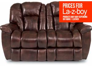La-z-boy Maverick Leather Reclining Loveseat