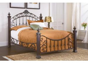 Jackson Queen Metal Bed,Largo Furniture