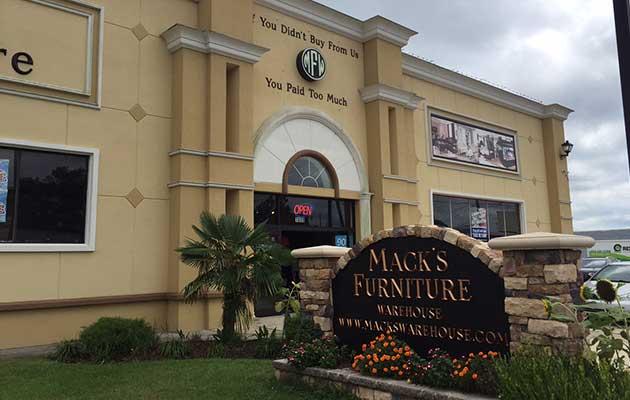 Mack s Furniture Warehouse Greenville NC