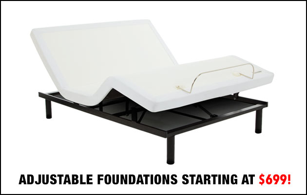 Adjustable Foundations Starting at $699