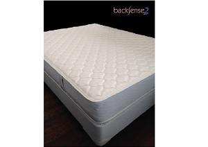 Backsense Two Sided Bristol Firm Queen Mattress w/ Foundation