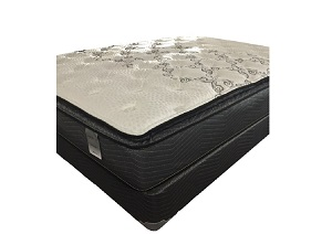 Driftwood Pillow Top Twin Mattress w/ Foundation