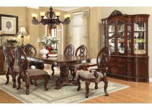 Rovledo-Dining Set  (1 Leaf-9 Pcs),ACME Furniture