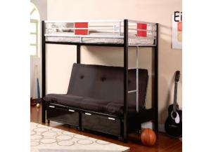 Heavy Duty Bunk Bed Twin/Futon