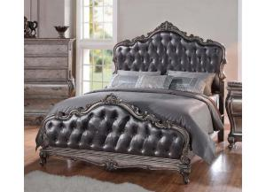 Chantelle Antique Platinum-Queen Bed
