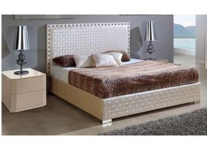643 Trenzado-Platform Bed w/Storage(Queen),ESF Wholesale Furniture