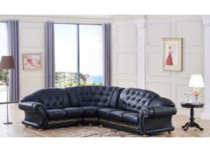 Versace Black- Sectional Right Side