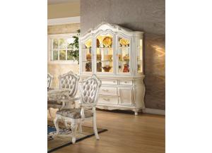 Chantelle Pearl White- Hutch Buffer,ACME Furniture