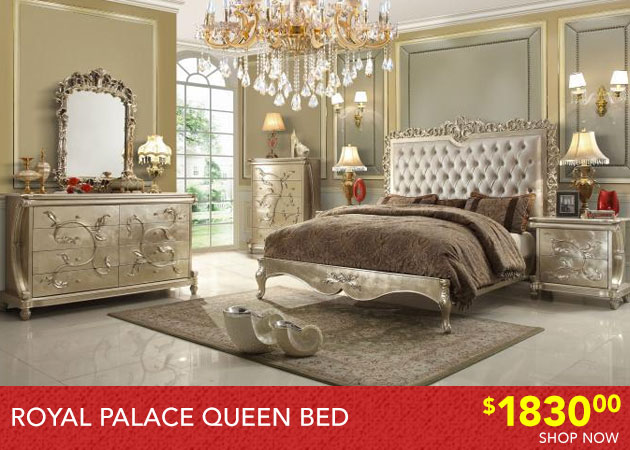 Royal Palace Queen Bed