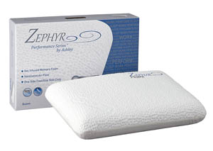 Zephyr Prime White Gel Memory Foam Pillow