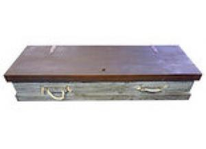 Million Dollar Rustic Gun Trunk Scraped Blue