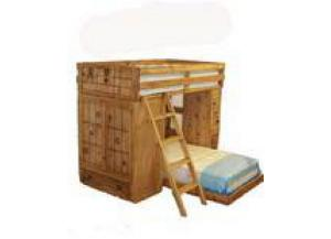Million Dollar Rustic Loft Bunk Bed