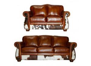 L.M.T. Rustic  Leathher/ Cowhide Collection