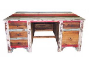 Million Dollar Rustic Multi Louvered Executive  Desk