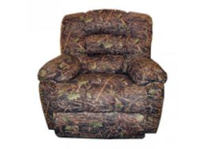 Million Dollar Rustic Camo Recliner