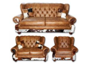 Million Dollar Rustic Chestnut Wingback Group